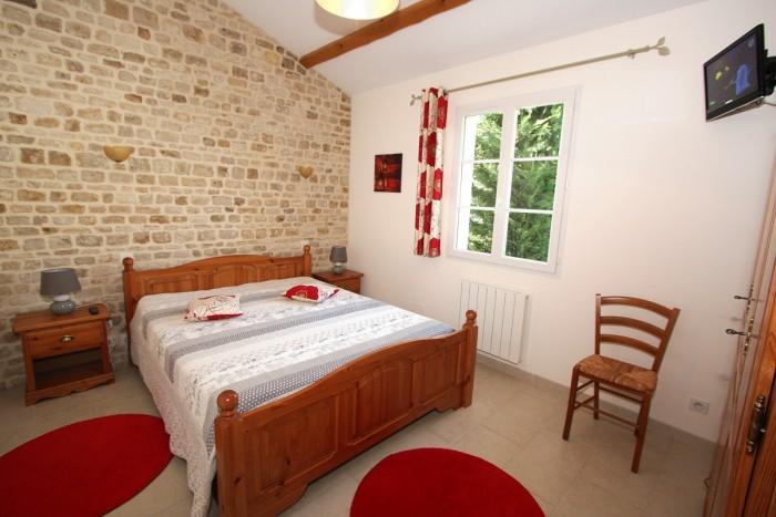 Chambre avec un lit 160