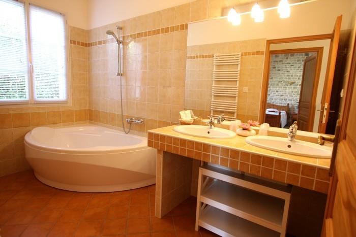 Salle de bain du gite